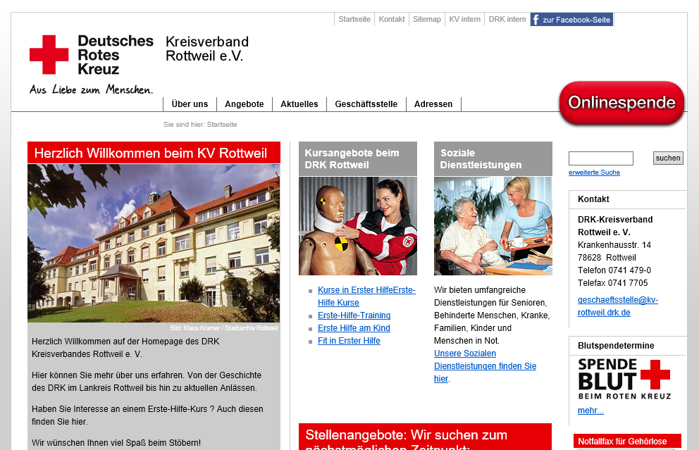 Deutsches Rotes Kreuz - Rotkreuz Kurse